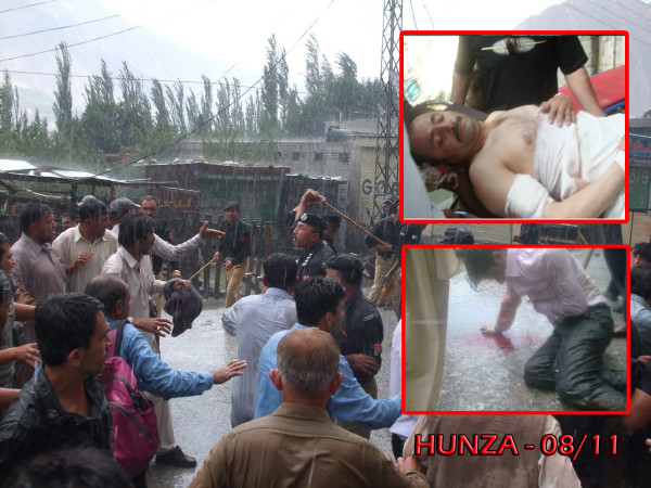 On 11 August 2011 two IDPs, father and son, were killed by police in Aliabad, Hunza