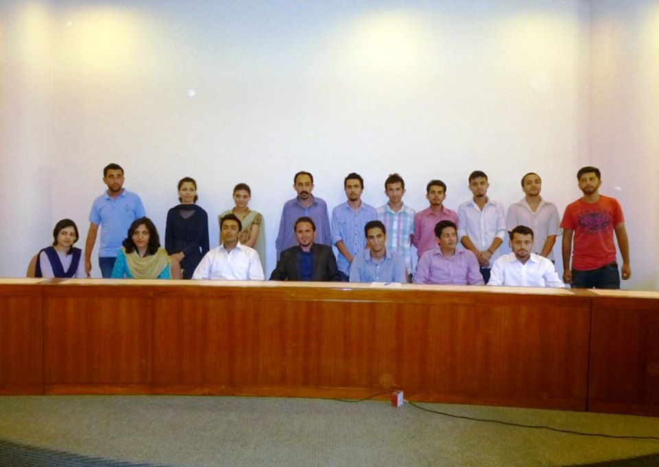 Newly appointed members of the GISAK cabinet