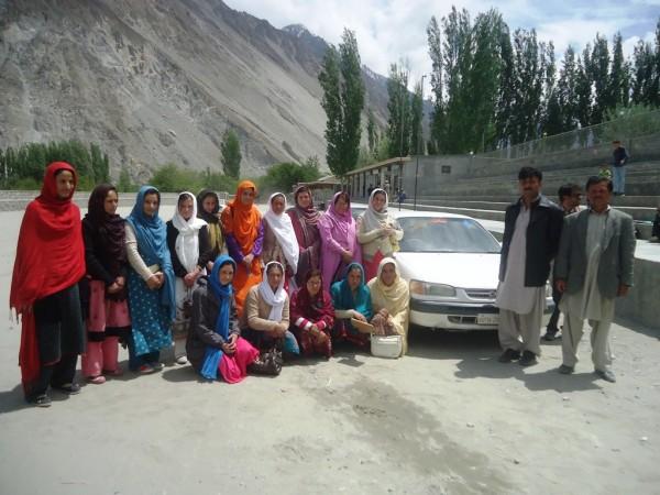 Gulmit: Participants of the driving participants