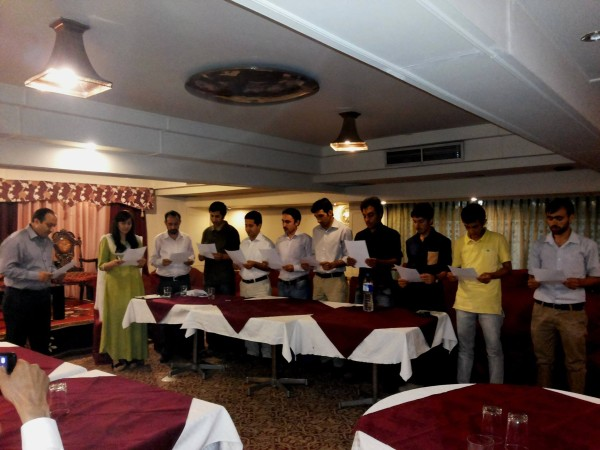 Jan Madad administered oath to the new officials of Yasin-e-Maharka