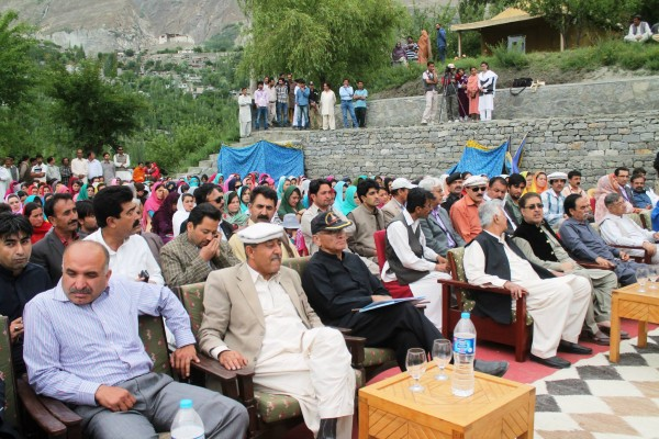 A large number of regional leaders and local notables were present. Photo: Nazim Ullah Baig