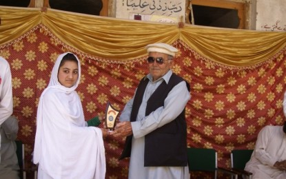 Talent Award 2014 held in Reshun Valley, Chitral