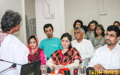 Mehfil-e-Mushaira arranged by GB Writers' Forum in Karachi