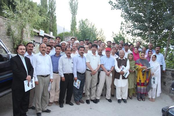 General Body members posing after annual meeting