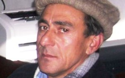 Human Rights activist, Syed Akram Hussain has passed away in Chitral