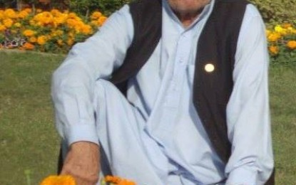 Huzur Mukhi Sahar Shah has passed away in Aliabad, Hunza