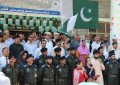 Flag hoisting ceremony held at Karakoram Int'l University Gilgit