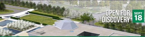 A computer graphic model of the Aga Khan Museum