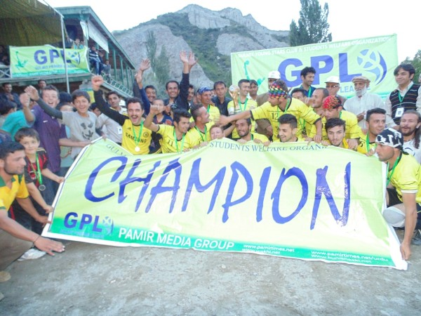 The Champions of GPL Season II celebrating their victory