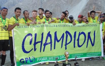 Gul-e-Gulmit FC wins the Gulmit Premier League