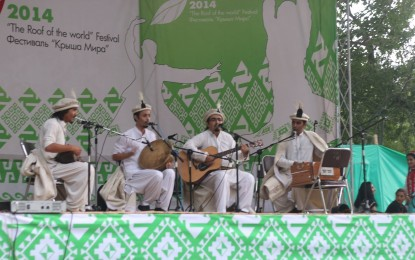 Sado-i-Pomir folk band represents Pakistan at the Roof Of the World Festival