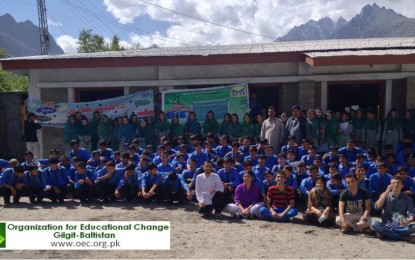 OEC arranges Educational Expos at two schools in Ghizer district