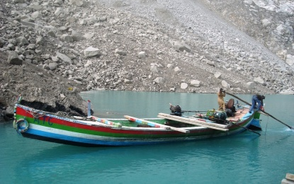 Equipment meant for Misgar Power Project sank in Attabad Lake