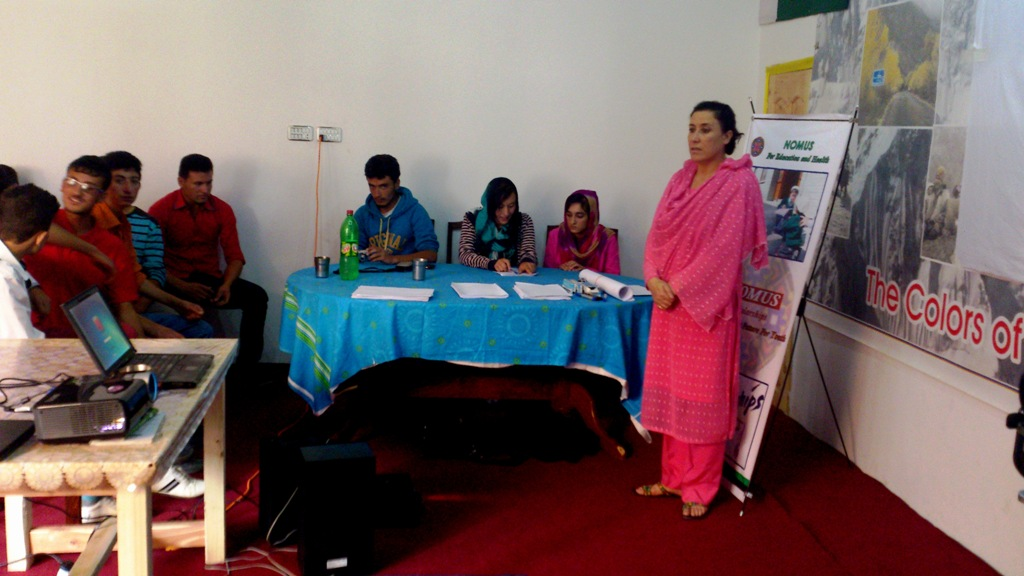 NOMUS held a career guidance session for students in Hunza
