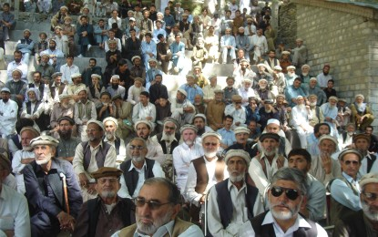 Residents of Chitral demand action against corrupt officials and contractors
