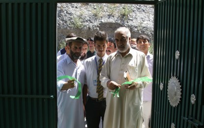 Chitral: Cheap Housing Scheme inaugurated