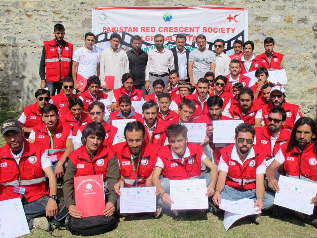 PRCS held 7th Annual Provincial Youth & Volunteers Camp at Hoper, Nagar