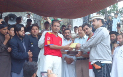 Bannu defeated Chitral, winning Inter-Regional Football Championship