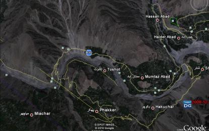 """""""Heavy landsliding"""" reported in Phakar, Nagar Valley"""