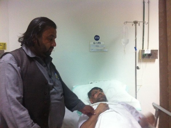 Baba Jan said his cousin had an accident and he had to be rushed to Islamabad for urgent treatment