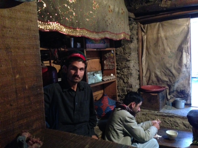 Conversing with interesting locals, such as this political and social activist, in the local tea house. The man was informative on a variety of issues, including waste and littering. Sitting in the background is the writer's host—a local networker, investigative writer, and travel guide.