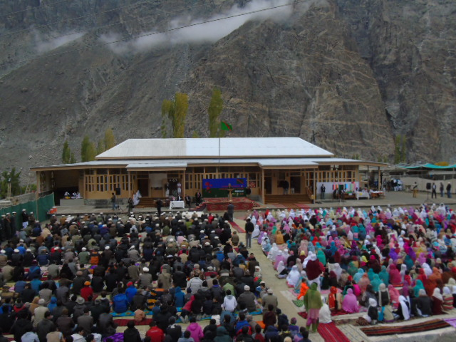 Jamatkhana inaugurated in Shishkat village of Gojal, upper Hunza