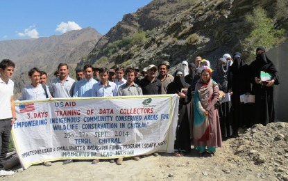 LEAD Pakistan trains data collectors in Chitral