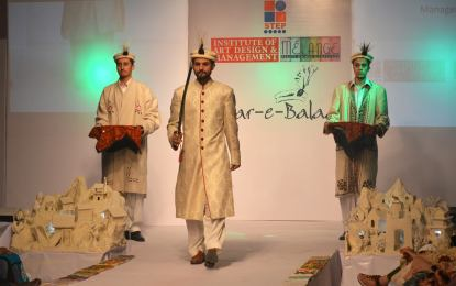 Fashion Show: Safar-e-Balaad (The Creative Journey) 2014 features dresses from Gilgit-Baltistan