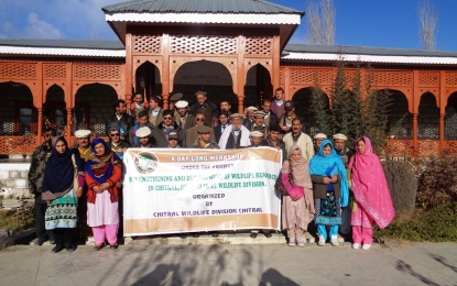 Wildlife Division Chitral organized workshop on Wildlife Conservation and Management in Booni