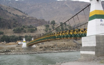 225 ft long bridge completed by SRSP inaugurated