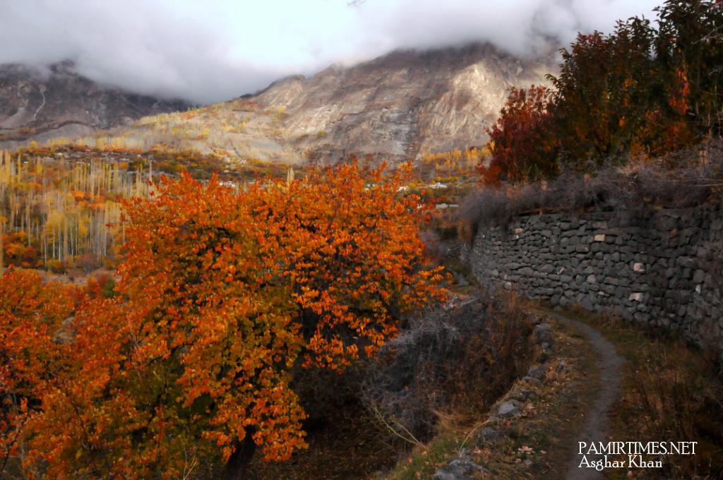 Bieshkar link road Hunza