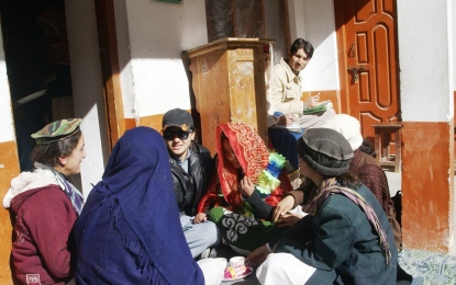 Chitral: Street theater being used to sensitize community about HIV/AIDS