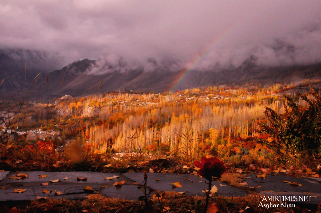 HSI Rainbow & Autumni view from the tents
