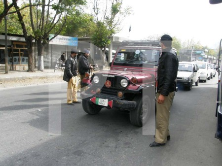 Police officials have been on high alert in Gilgit city