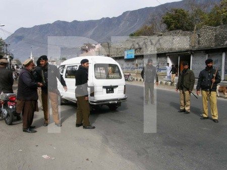 A large number of police, rangers and FC personnel have been put on security duties since the first day of Muharram