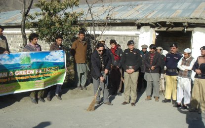 Cleanliness drive kicks off at District Jail Chitral