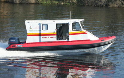 Health department starts boat ambulance in Attabad Lake