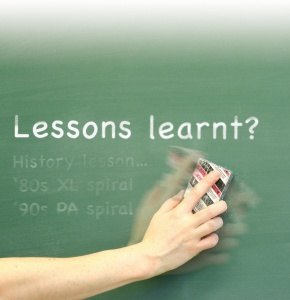 more lessons are learnt in the