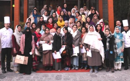 [Pictorial] Serena Gilgit organizes 2-week long cooking classes for women