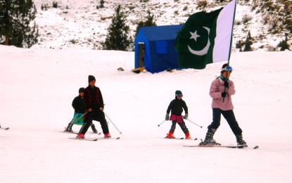 Pakistan's two-member ski team from Naltar Valley, Gilgit-Baltistan to participate in the world dream program in South Korea