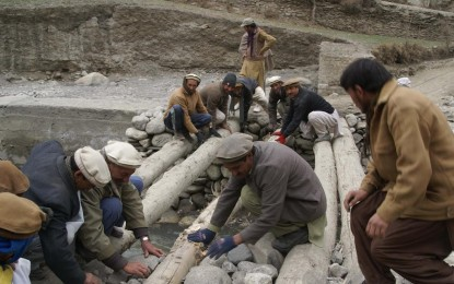 Chitral: Government Inaction led the community to reconstruct bridge on self-help basis
