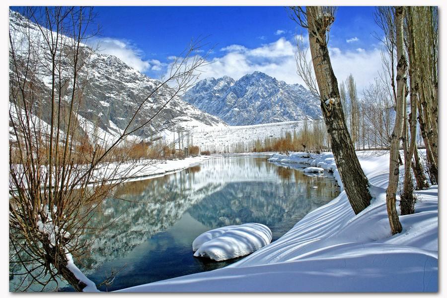 Phandar in the winter