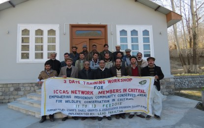 Three day workshop on Wildlife Conservation concluded in Chitral