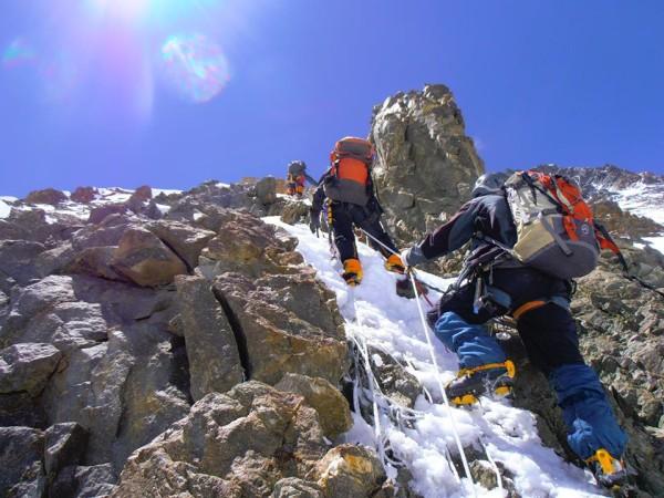 K2, near camp 2