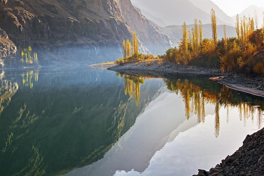 Mystic scene form the Phandar RIver lake
