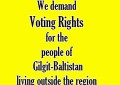 Voting rights for Gilgit-Baltistan's diaspora