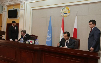 UNDP, Japan to support Afghan-Tajikistan border trade with new $4.2mn project