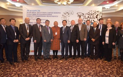 High-level meeting of 12 countries to coordinate efforts to conserve the snow leopard and its habitat