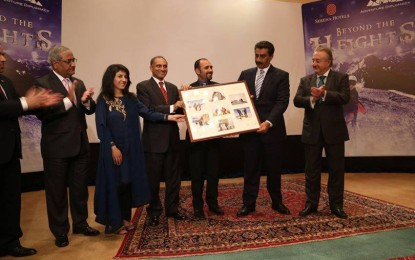 """""""Beyond Heights"""": Documentary about mountaineering icon Samina Baig launched"""