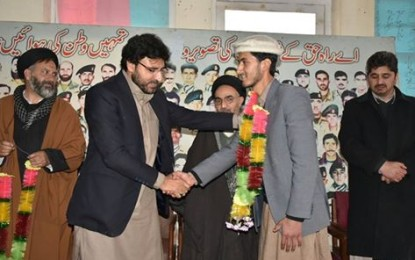 Young activist Dr. Shujaat Hussain Messam joins MWM, to take part in election from Kharmang